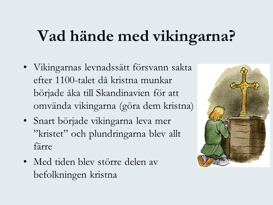 Vad hände med vikingarna