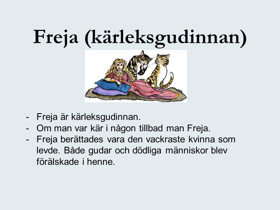Freja (kärleksgudinnan)