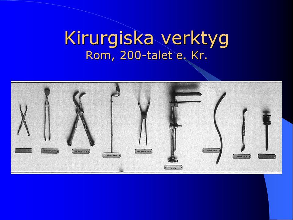 Kirurgiska verktyg Rom, 200-talet e. Kr.