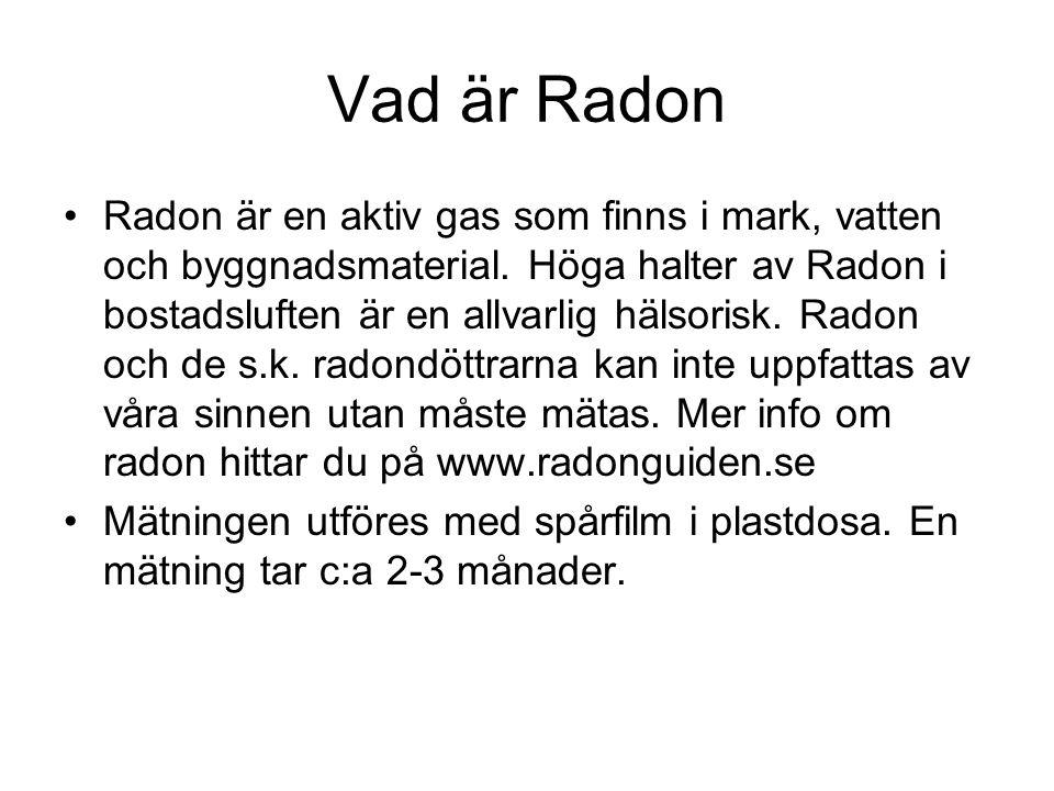 Vad är Radon