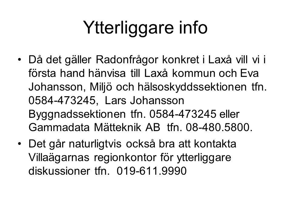 Ytterliggare info