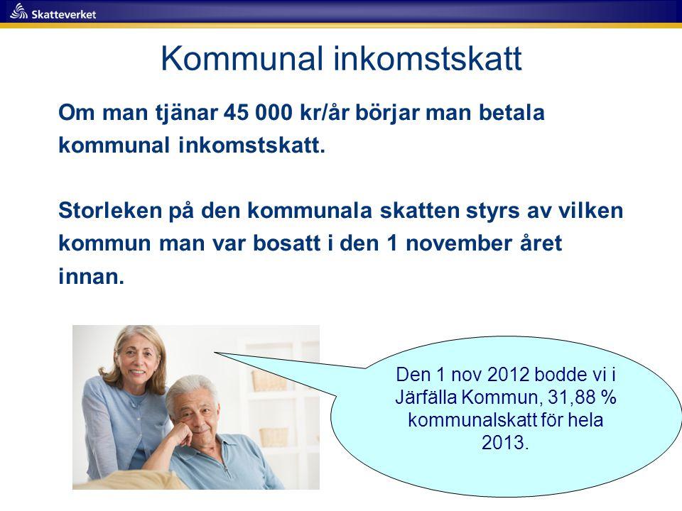 Kommunal inkomstskatt