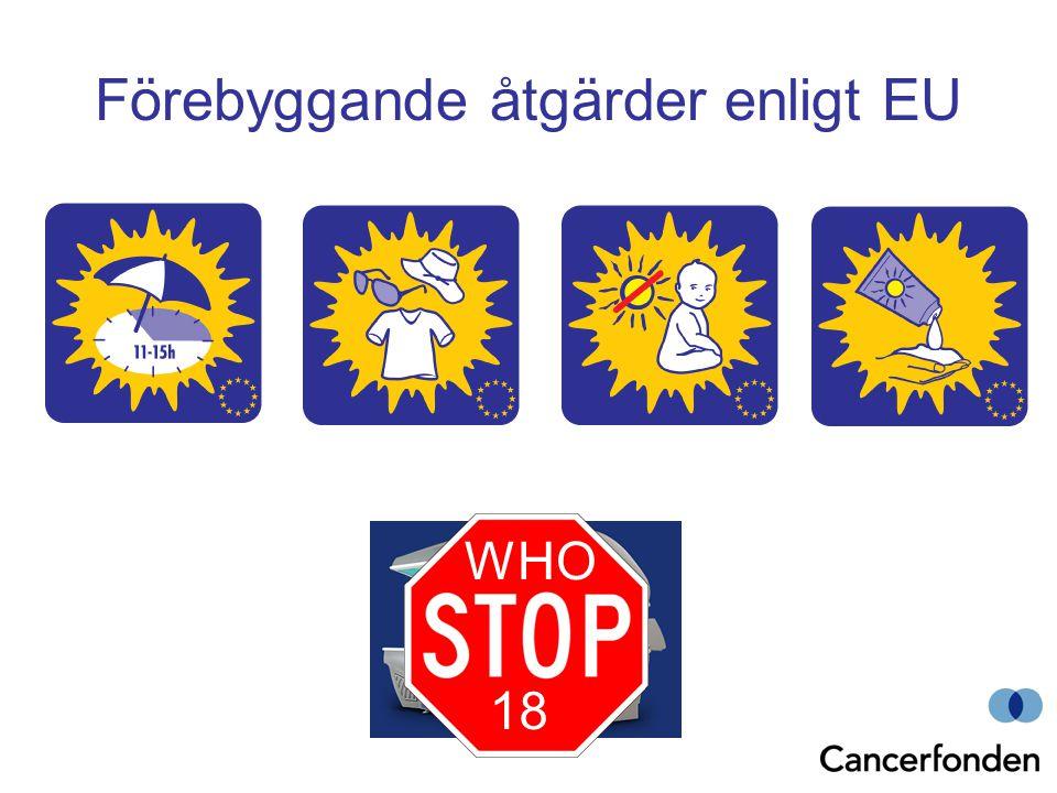 Förebyggande åtgärder enligt EU