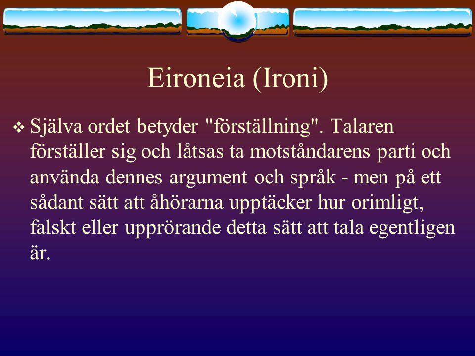 Eironeia (Ironi)