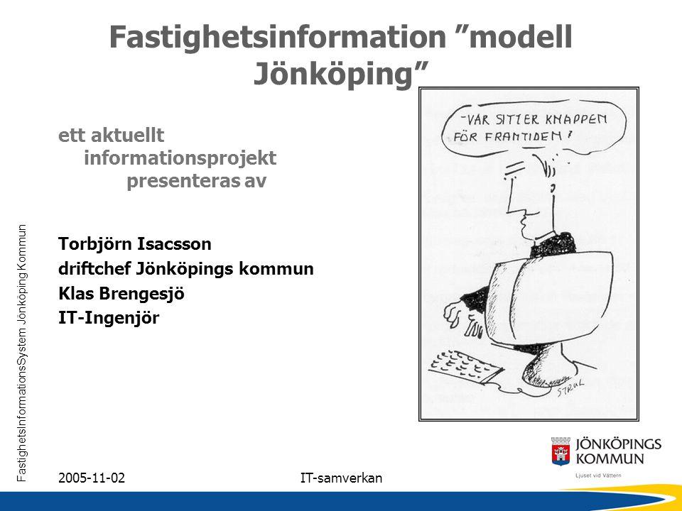 Fastighetsinformation modell Jönköping