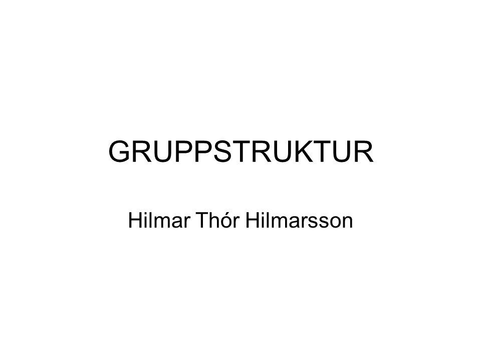 Hilmar Thór Hilmarsson