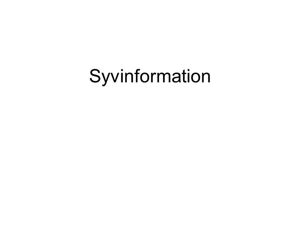Syvinformation
