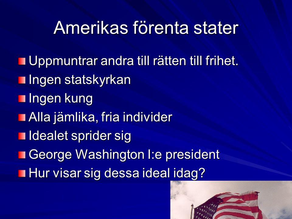 Amerikas förenta stater