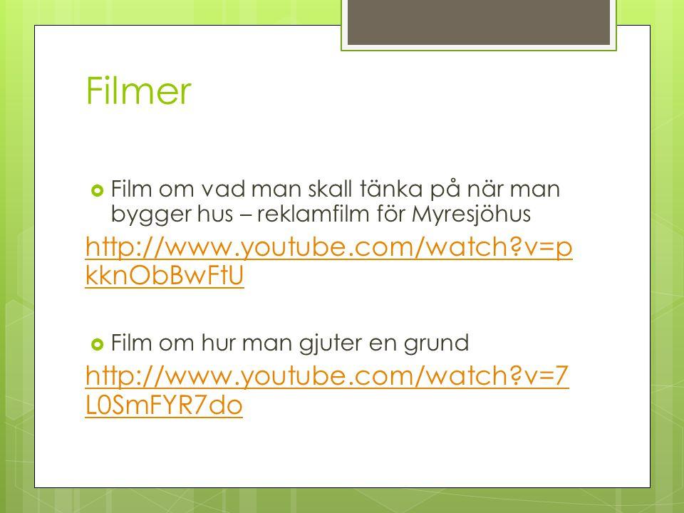 Filmer http://www.youtube.com/watch v=pkknObBwFtU
