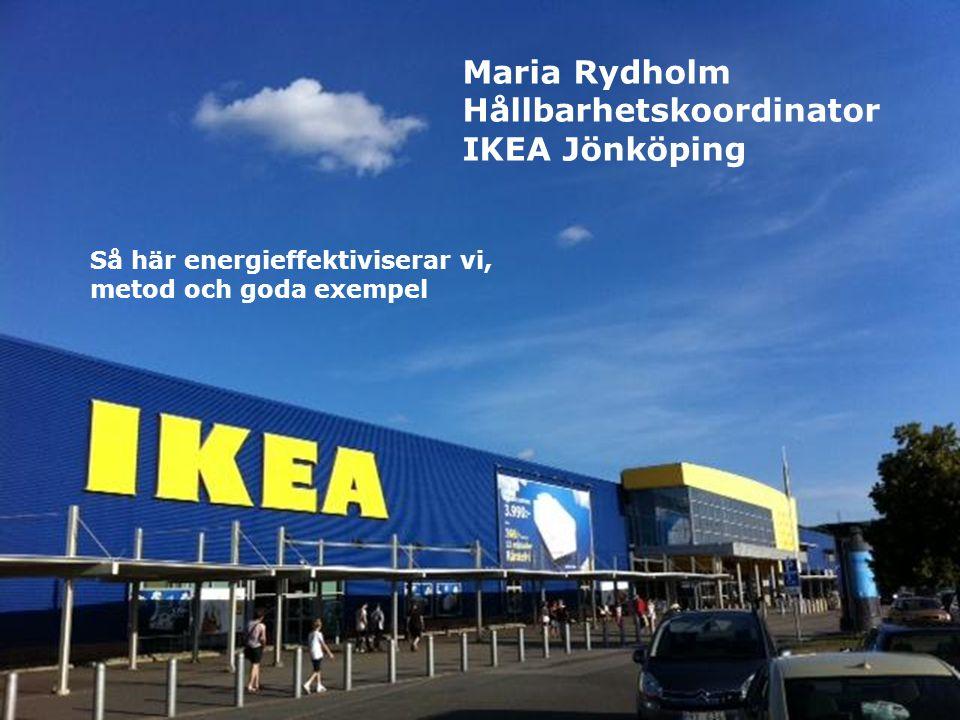Hållbarhetskoordinator IKEA Jönköping ..