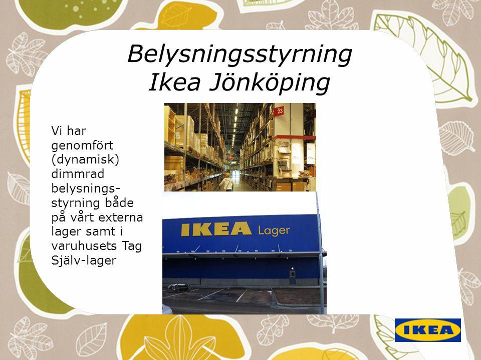 Belysningsstyrning Ikea Jönköping