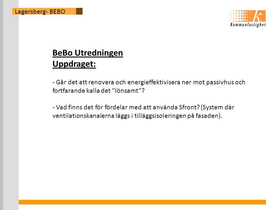 BeBo Utredningen Uppdraget: Lagersberg- BEBO