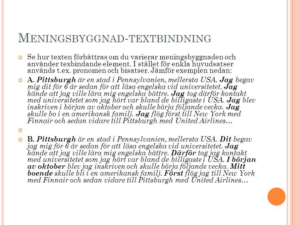Meningsbyggnad-textbindning