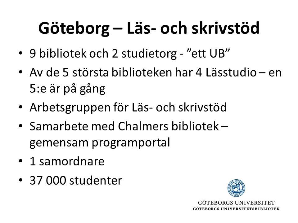 Göteborg – Läs- och skrivstöd