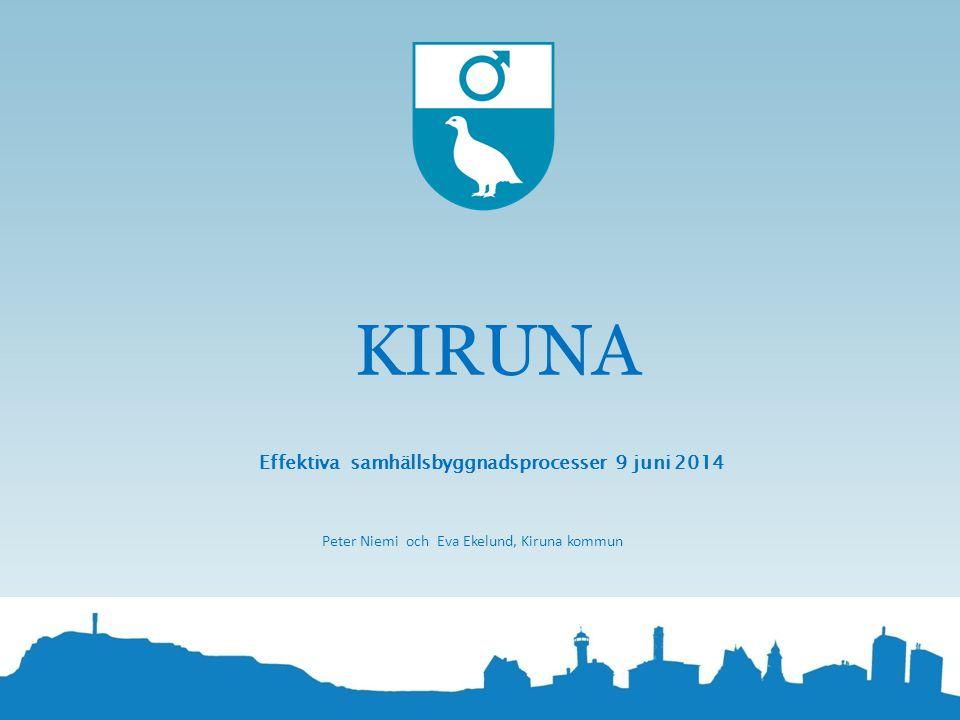 Effektiva samhällsbyggnadsprocesser 9 juni 2014