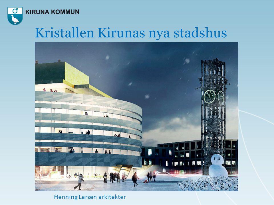 Kristallen Kirunas nya stadshus