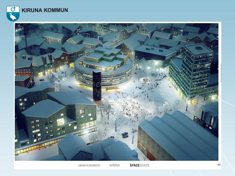 Hur lyckas vi motsvara kirunabornas förväntningar på en attraktiv stadskärna