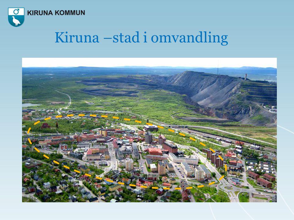 Kiruna –stad i omvandling
