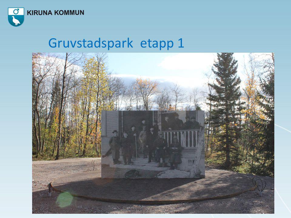Gruvstadspark etapp 1
