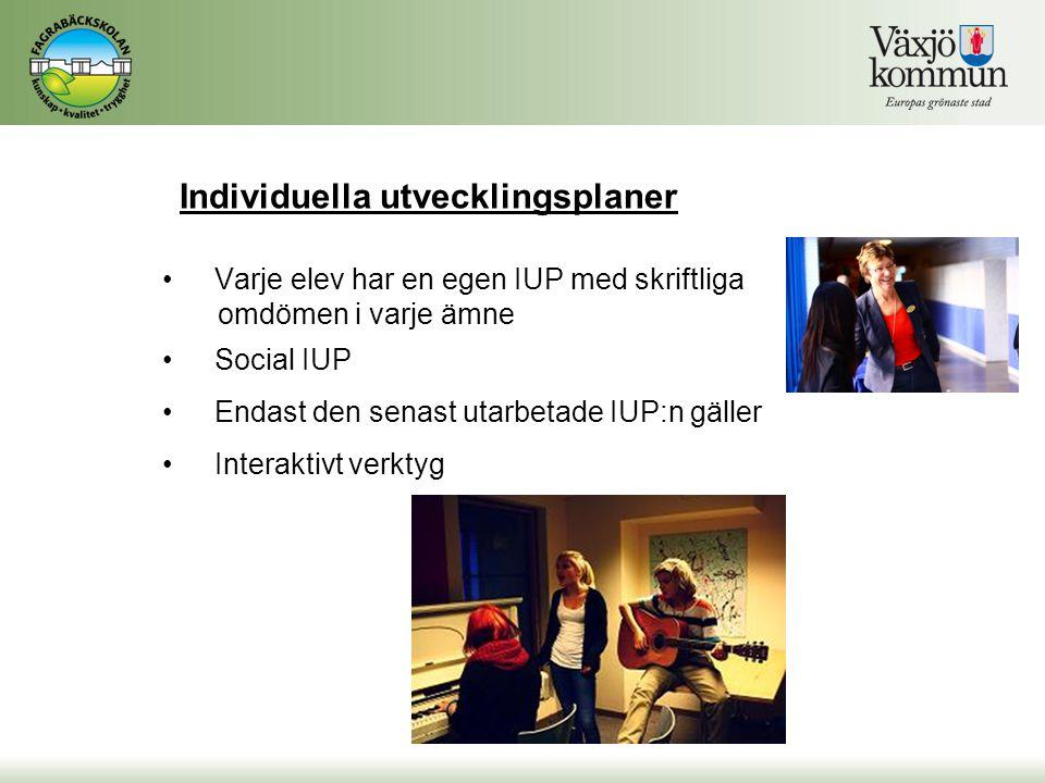 Individuella utvecklingsplaner