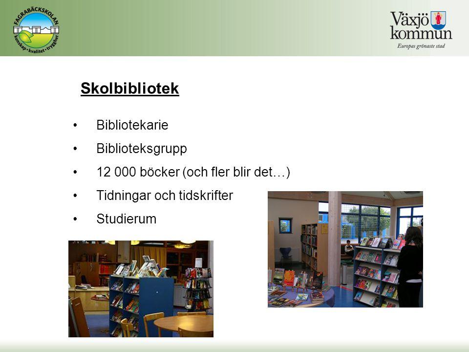 Skolbibliotek Bibliotekarie Biblioteksgrupp
