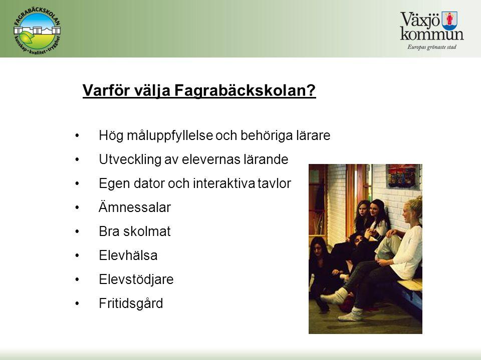 Varför välja Fagrabäckskolan