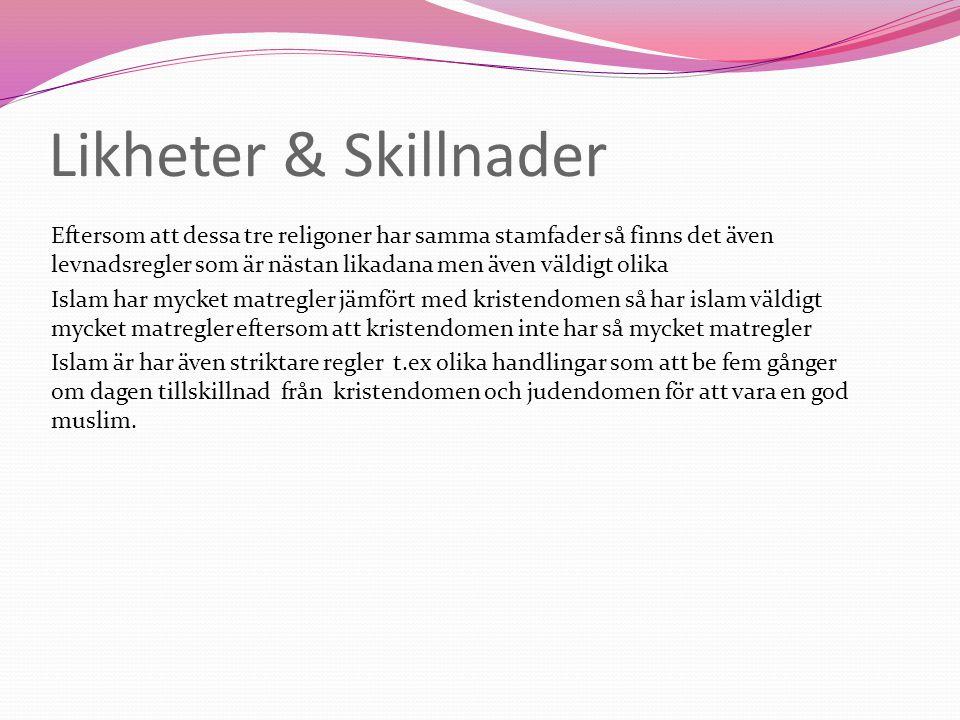 Likheter & Skillnader