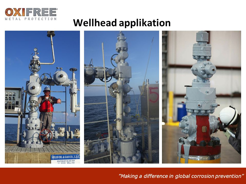 Wellhead applikation