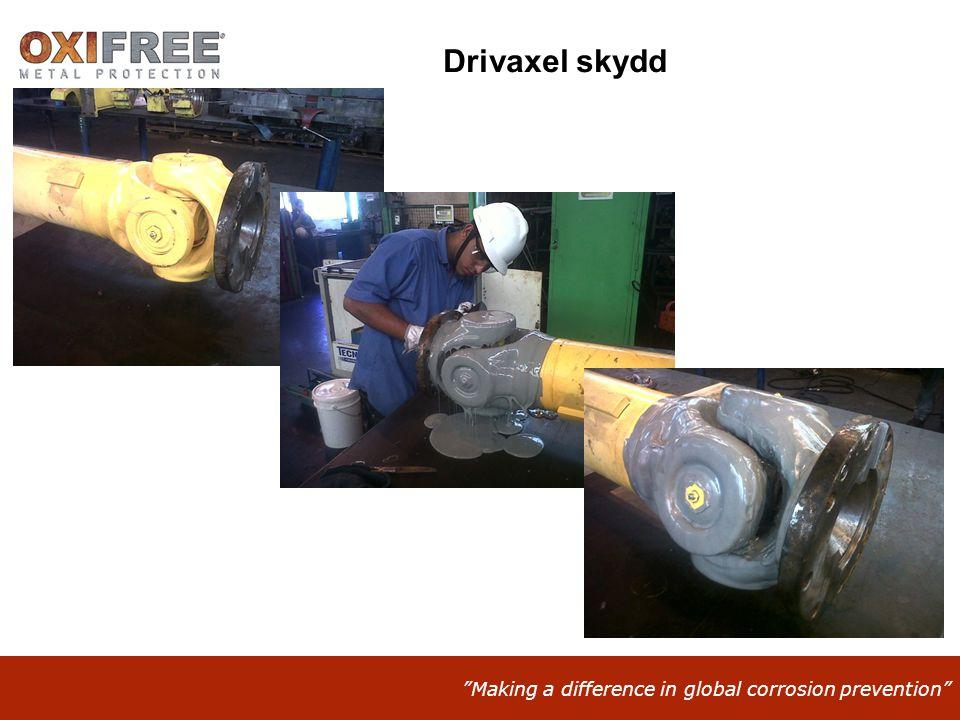 Drivaxel skydd