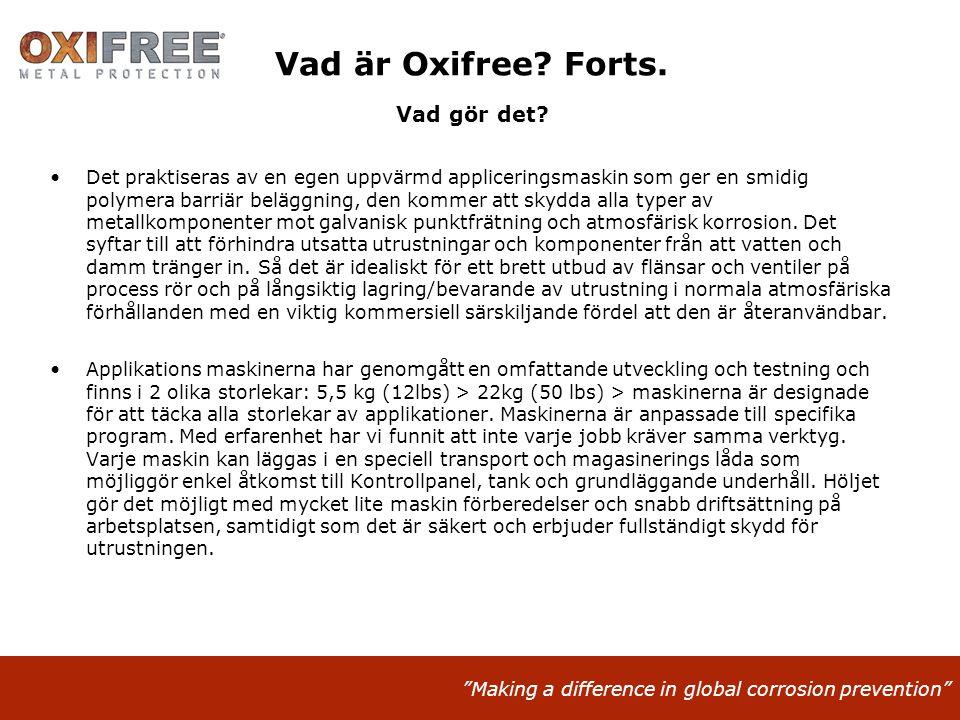 Vad är Oxifree Forts. Vad gör det