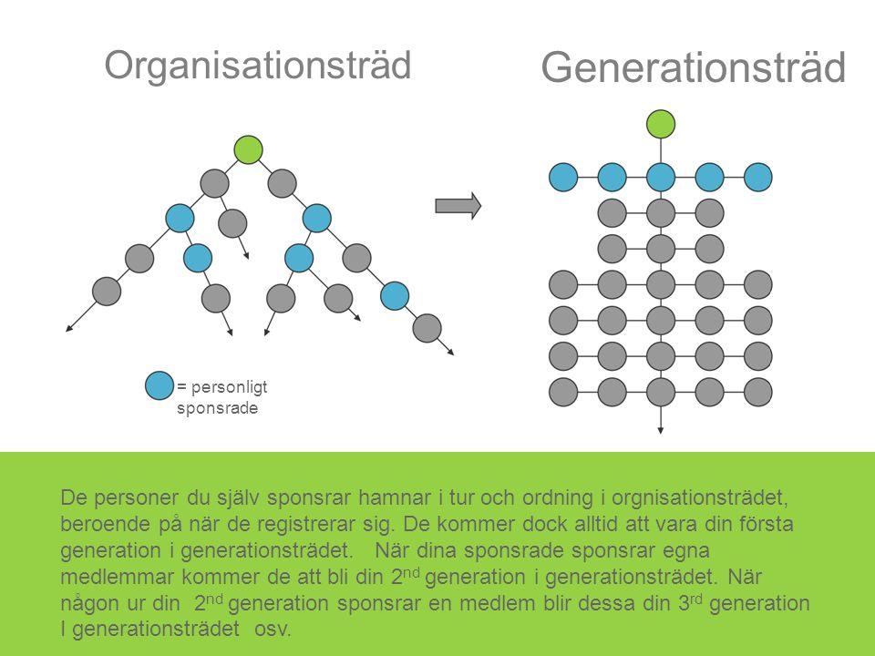 Generationsträd Organisationsträd