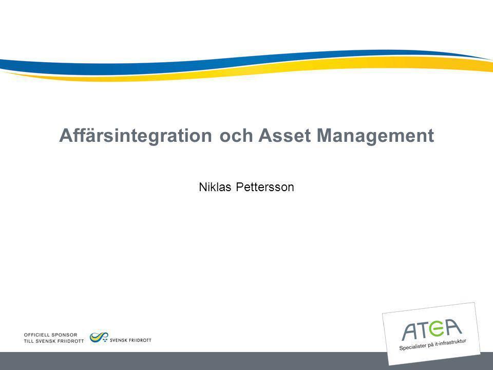Affärsintegration och Asset Management