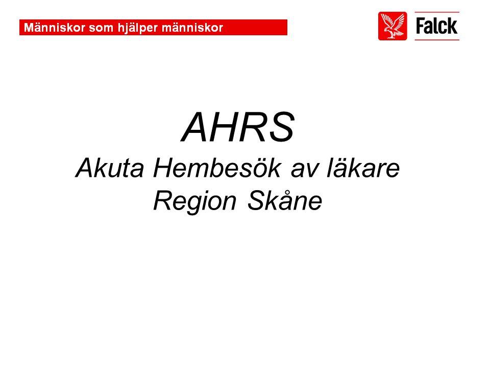 Akuta Hembesök av läkare Region Skåne