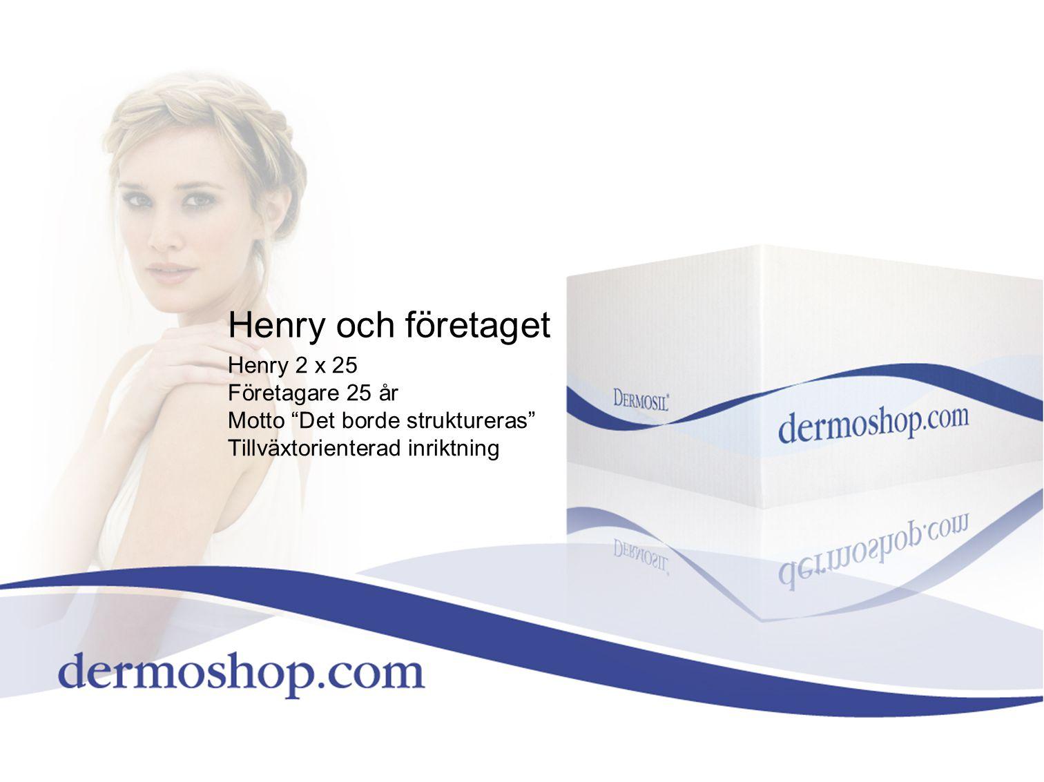 Henry och företaget Henry 2 x 25 Företagare 25 år