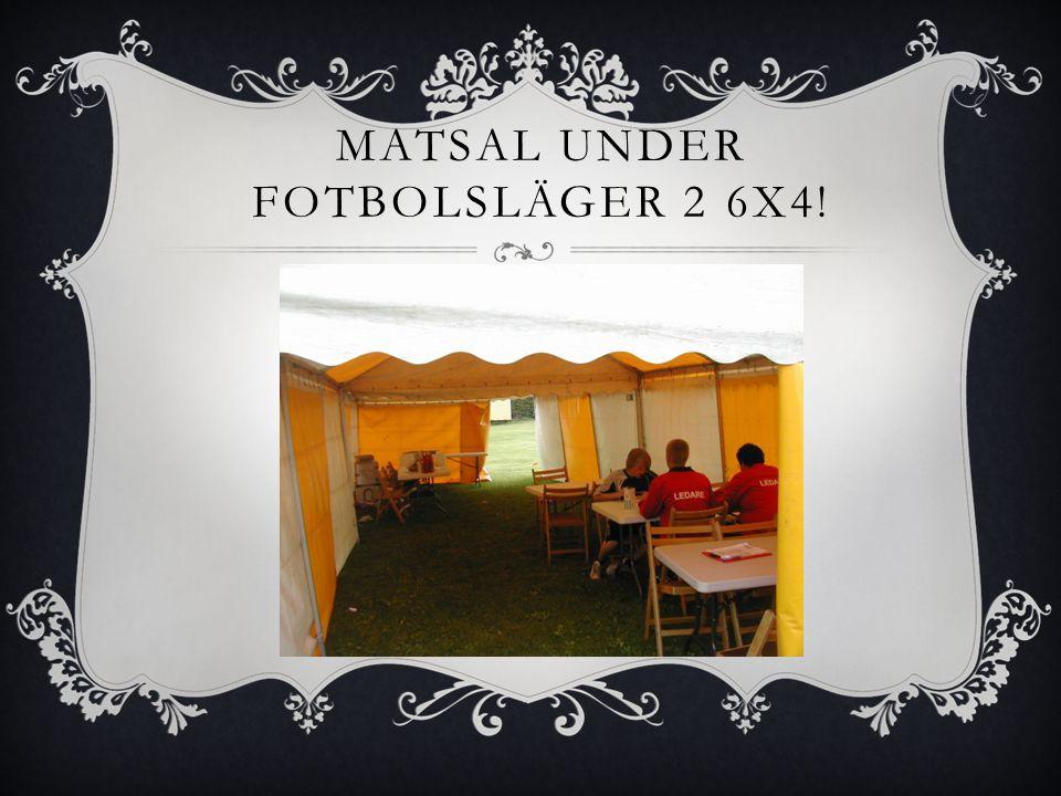 Matsal under fotbolsläger 2 6x4!