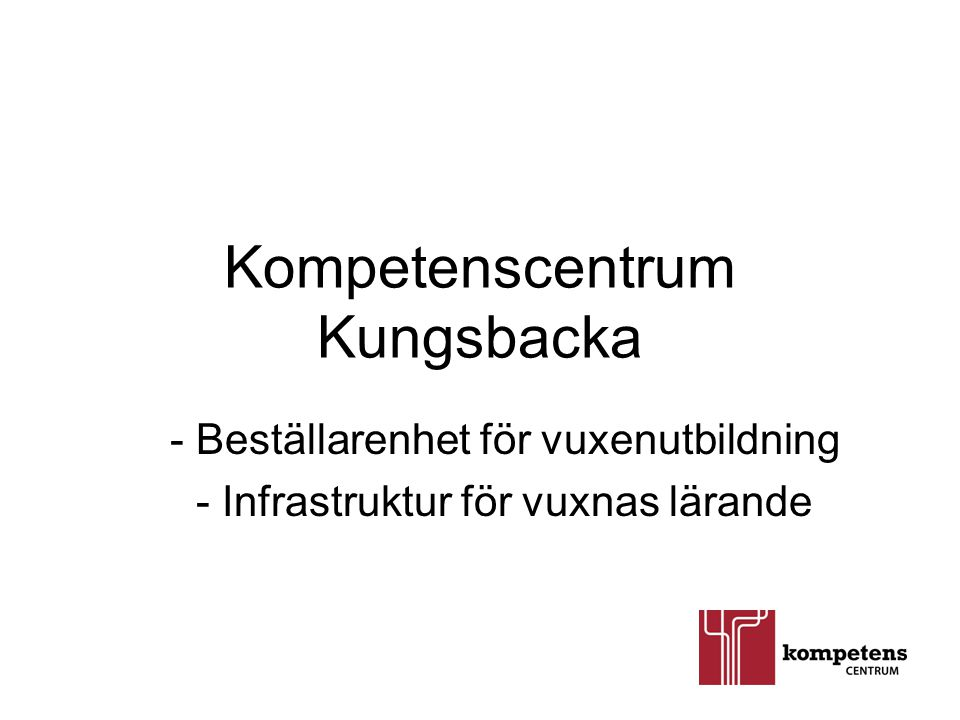 Kompetenscentrum Kungsbacka