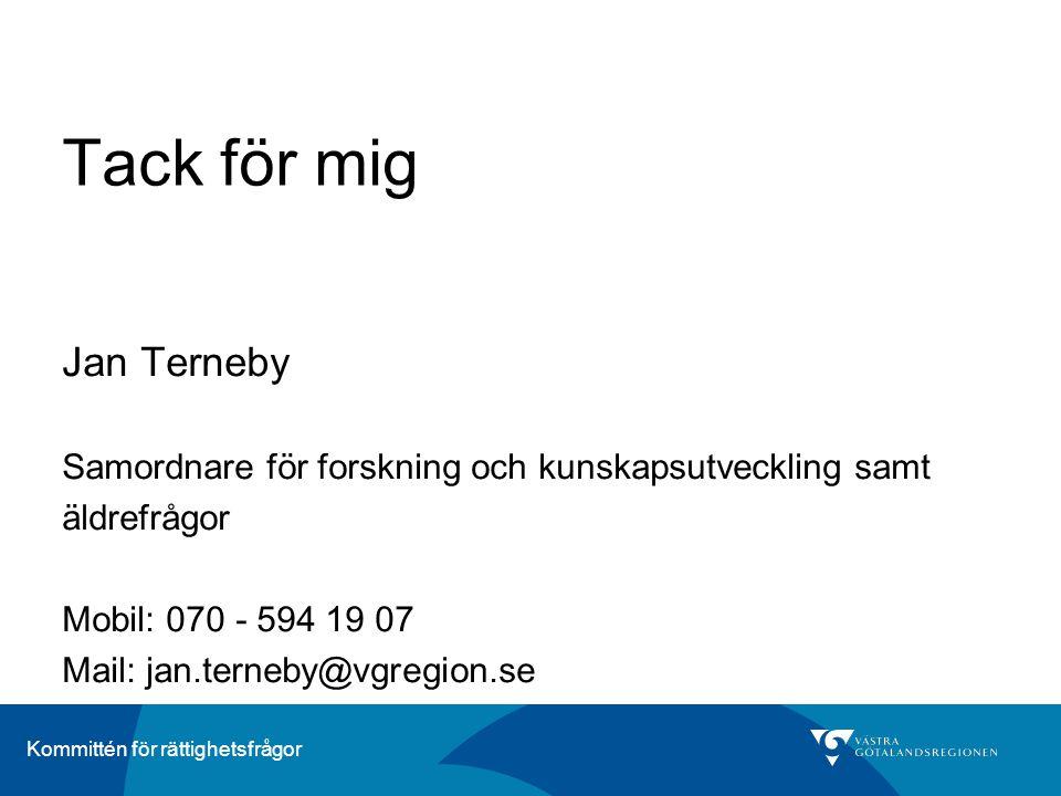 Tack för mig Jan Terneby