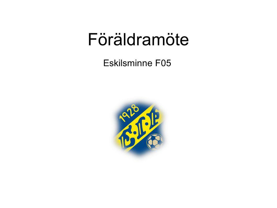Föräldramöte Eskilsminne F05