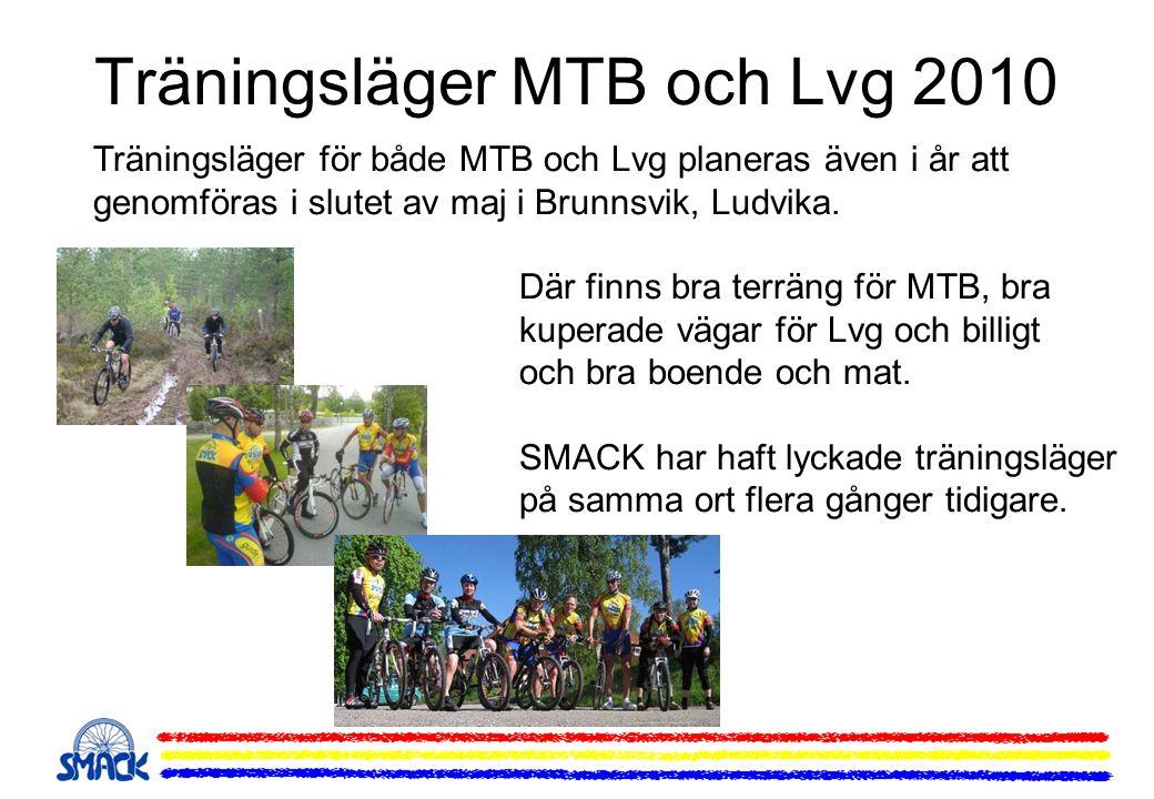 Träningsläger MTB och Lvg 2010