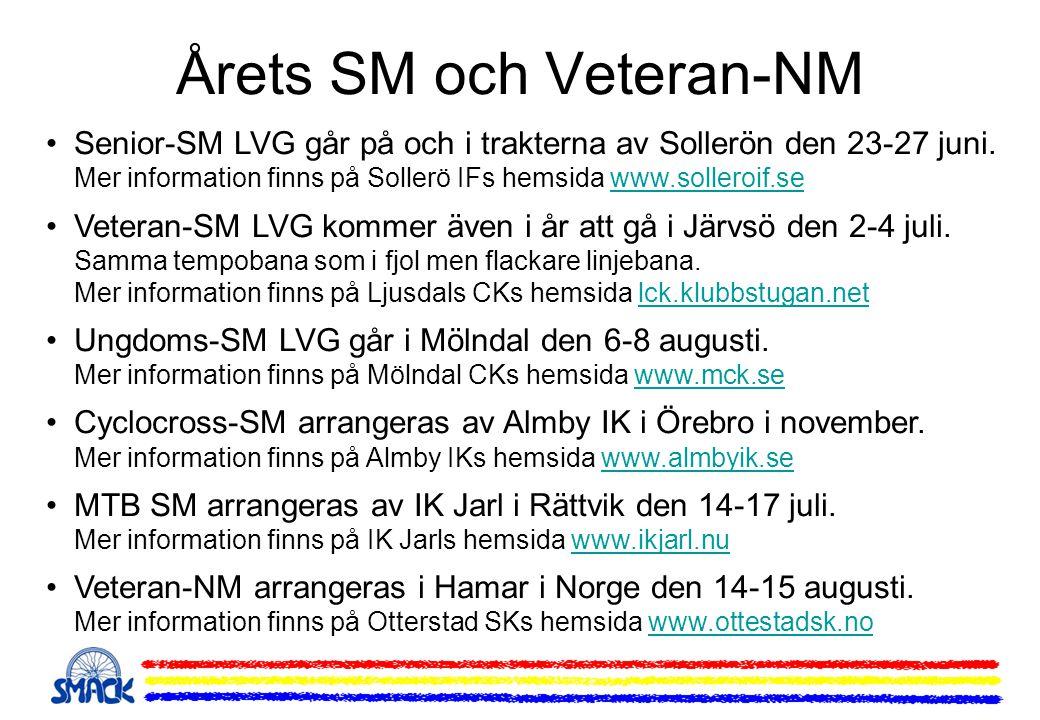 Årets SM och Veteran-NM
