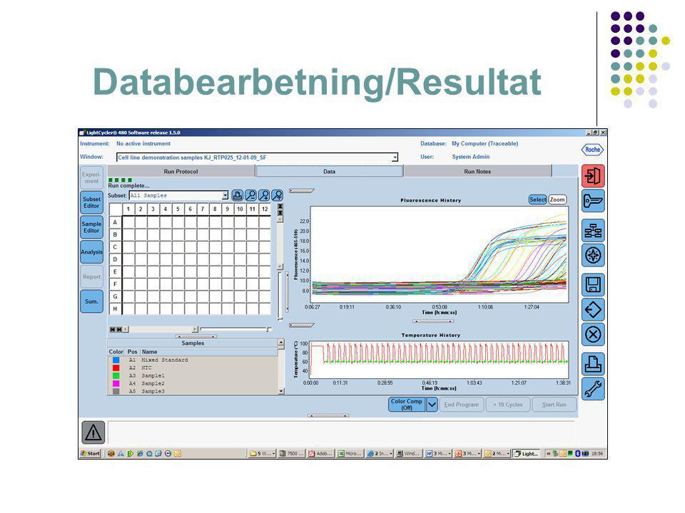 Databearbetning/Resultat