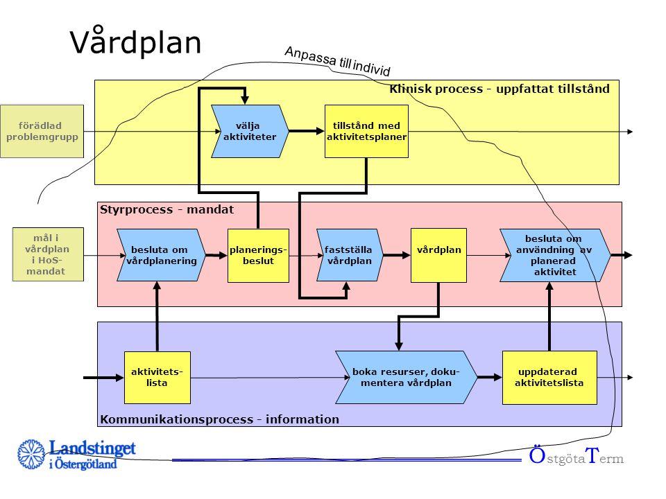 Vårdplan ÖstgötaTerm Anpassa till individ