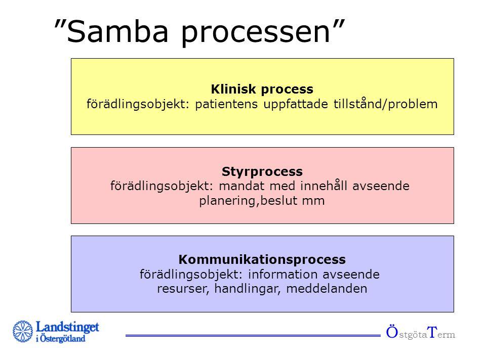Samba processen ÖstgötaTerm Klinisk process