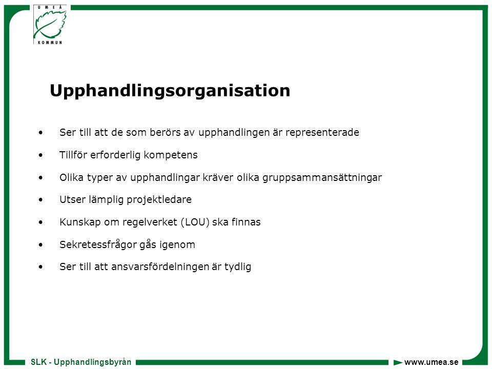 Upphandlingsorganisation