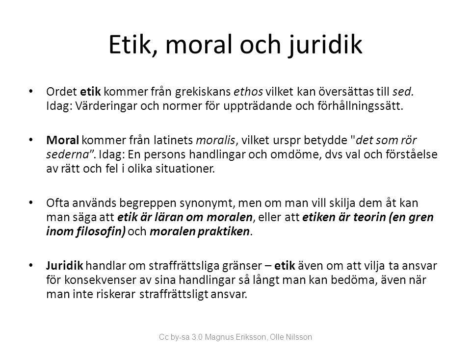 Cc by-sa 3.0 Magnus Eriksson, Olle Nilsson