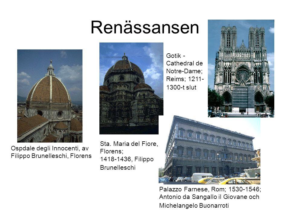 Renässansen Gotik - Cathedral de Notre-Dame; Reims; 1211- 1300-t slut