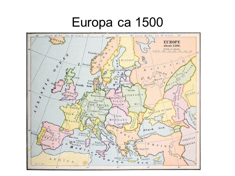 Europa ca 1500