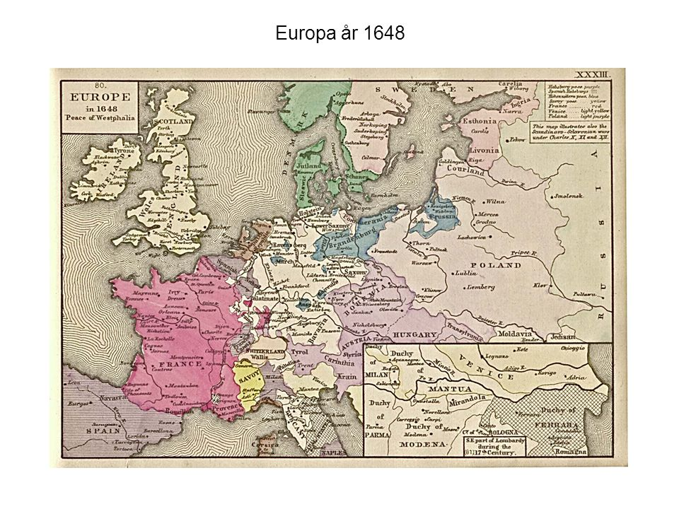 Europa år 1648