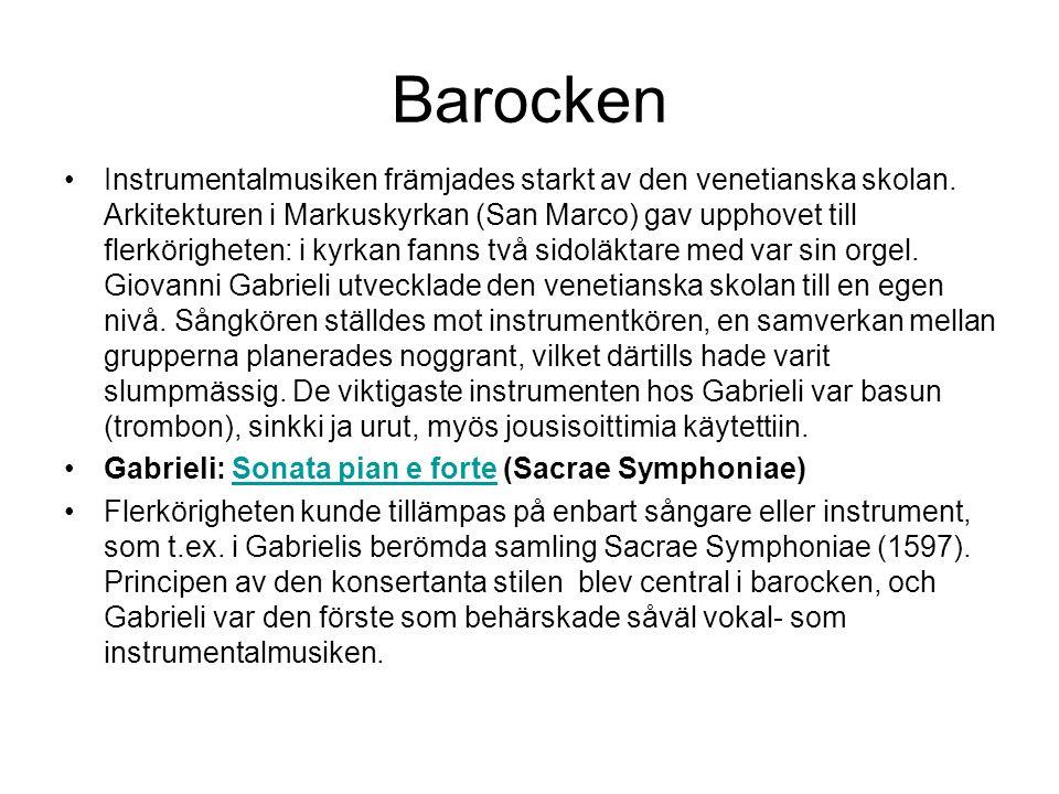 Barocken