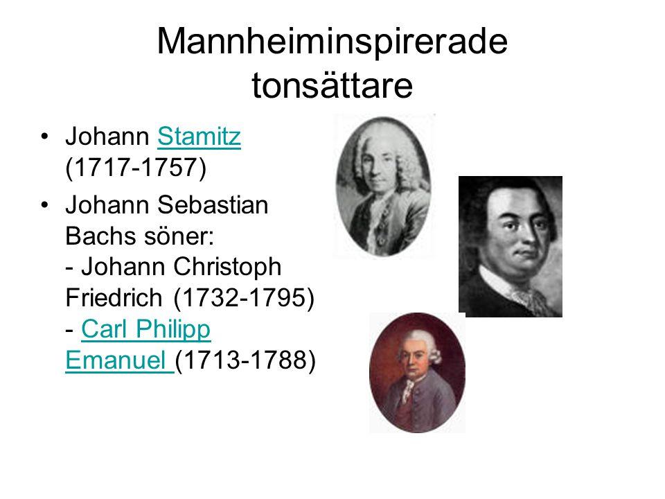 Mannheiminspirerade tonsättare